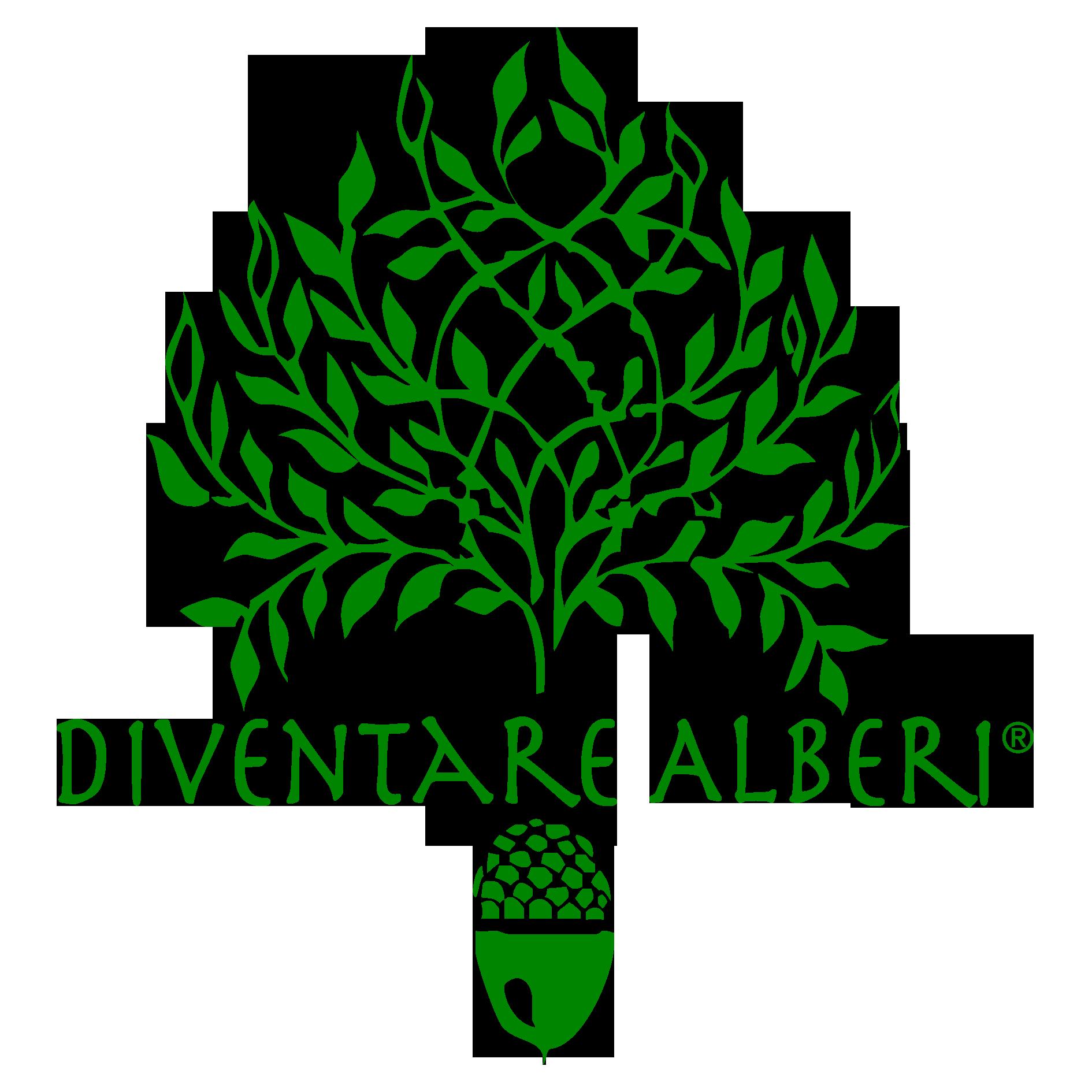 diventare alberi logo